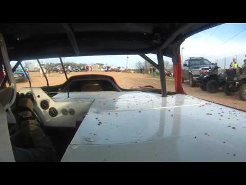 West Siloam Speedway 04-20-2013 GN Hot laps, Heat wreck, Feature Roll