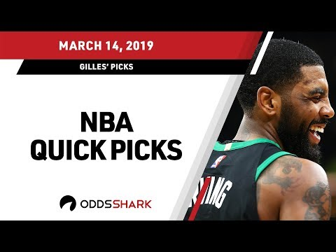 NBA Quick Picks and Betting Odds - March 14, 2019