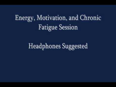 Self Hypnosis: Energy, Motivation, Chronic Fatigue Session - Use Headphones