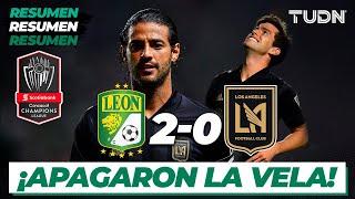 Resumen y Goles | León 2 - 0 Los Ángeles FC | Concacaf Champions 2020 | TUDN