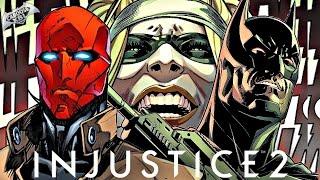 INJUSTICE 2 - COMIC 1 Y 2 - dc comics