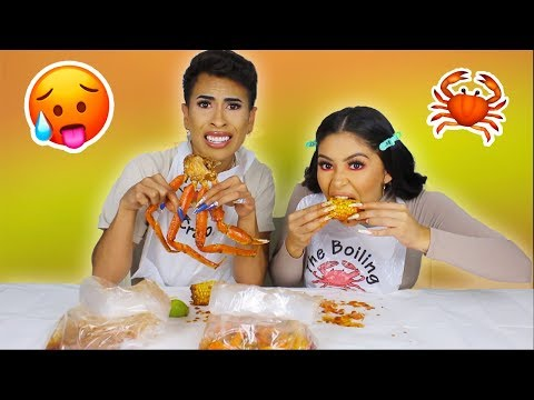 Seafood Mukbang ft. Louie's Life | Daisy Marquez
