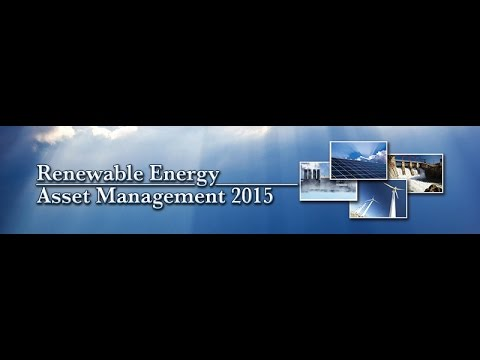2015 10 07 Renewable Asset Management 2015   Data Standard