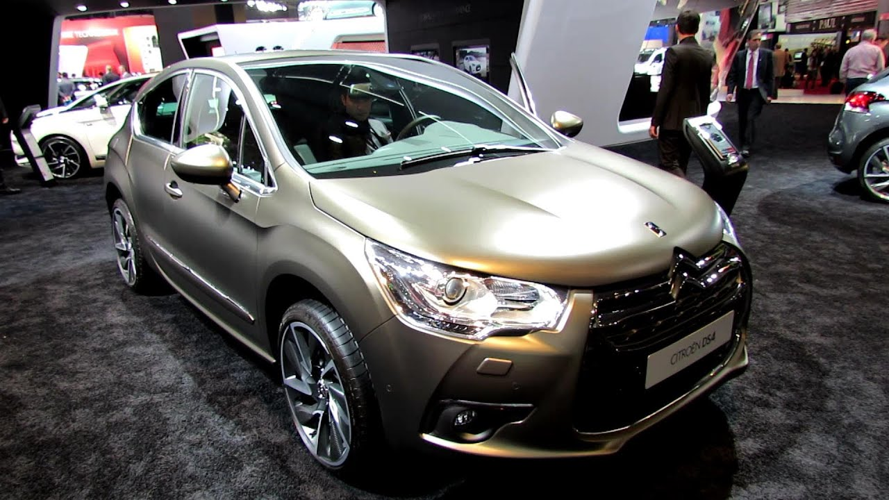 2013 citroen ds4 exterior and interior walkaround 2012 paris auto show youtube. Black Bedroom Furniture Sets. Home Design Ideas