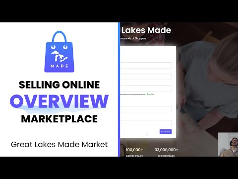 Sell on Great Lakes Made Market - Overview of Sales Channels, Etsy, CSV Import, and POS