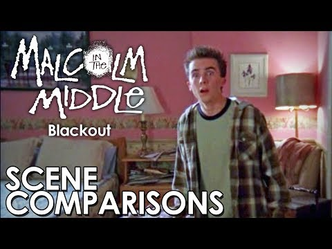 Malcolm in the Middle   Blackout - scene comparisons