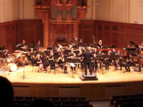 Frank Zappa's Dog Breath Variations performed by Lawrence University Wind Ensemble