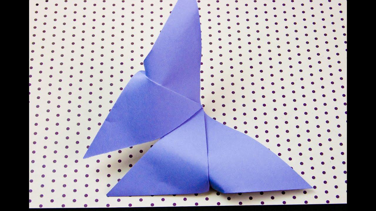 C mo hacer una mariposa de papel origami youtube - Como hacer mariposas de papel ...