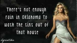 Carrie Underwood - Blown Away (Lyrics)