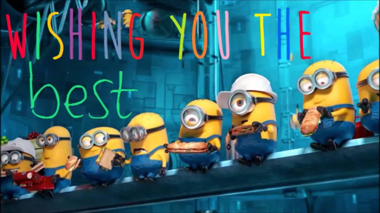 Minion Happy Birthday Video-with Banana Song
