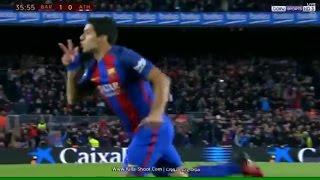 LUIS SUAREZ GOAL Vs Athletic Bilbao 2-1 11/01/2017