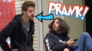 Mouth Guard Challenge Prank in Public!