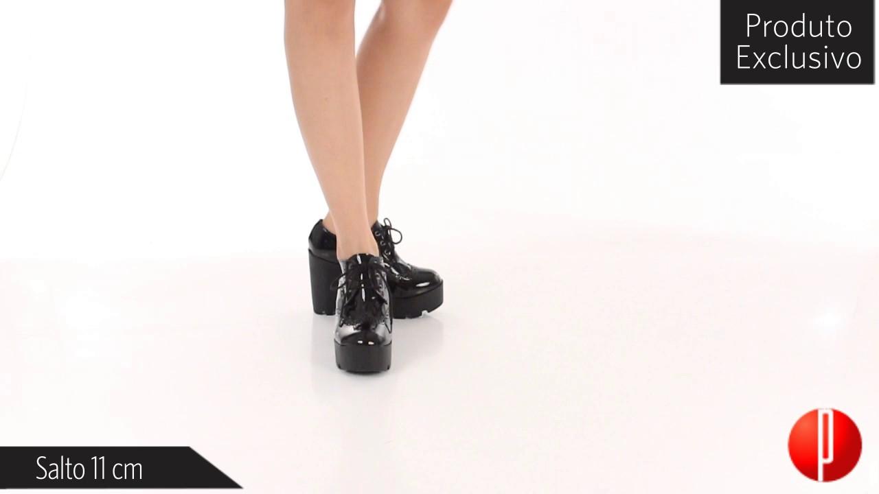 3419f32c80 Sapato Oxford Feminino Brenda Lee - 6030493712 - YouTube