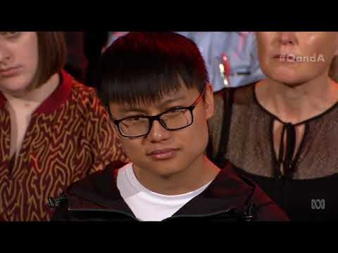 VUIGroup: ABC Q&A Chinese student An asks Kevin Rudd his opinion
