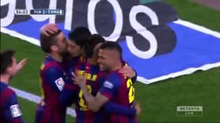 Гол Суареса в ворота Реала