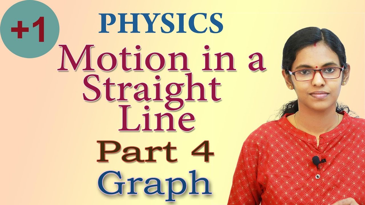 Motion in a Straight line // Plus One Physics // Part 4 // Graph // Malayalam