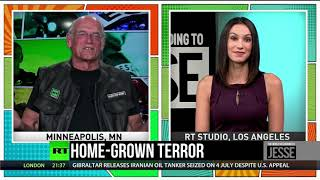 "Jesse Ventura: ""Our government ignores homegrown terror because it's not profitable."""