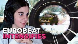 BECAUSE EUROBEAT IS ALL YOU NEED - PUBG WTF Girl Streamer Moments #16