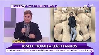 """Ionela Prodan a slăbit fabulos: """"Nu mai beau cafea și alcool de când m-am pus pe slăbit"""""""