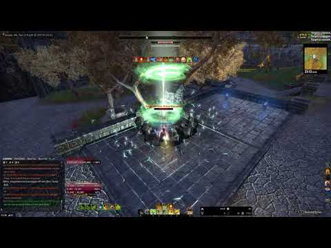 ESO - Stamina Templar PVE Crescent Sweep 44k solo (Wolfhunter)