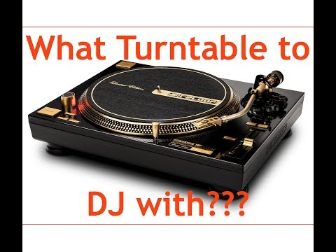 WHAT BEGINNER(ish) DJ TURNTABLE TO GET?? (2017)