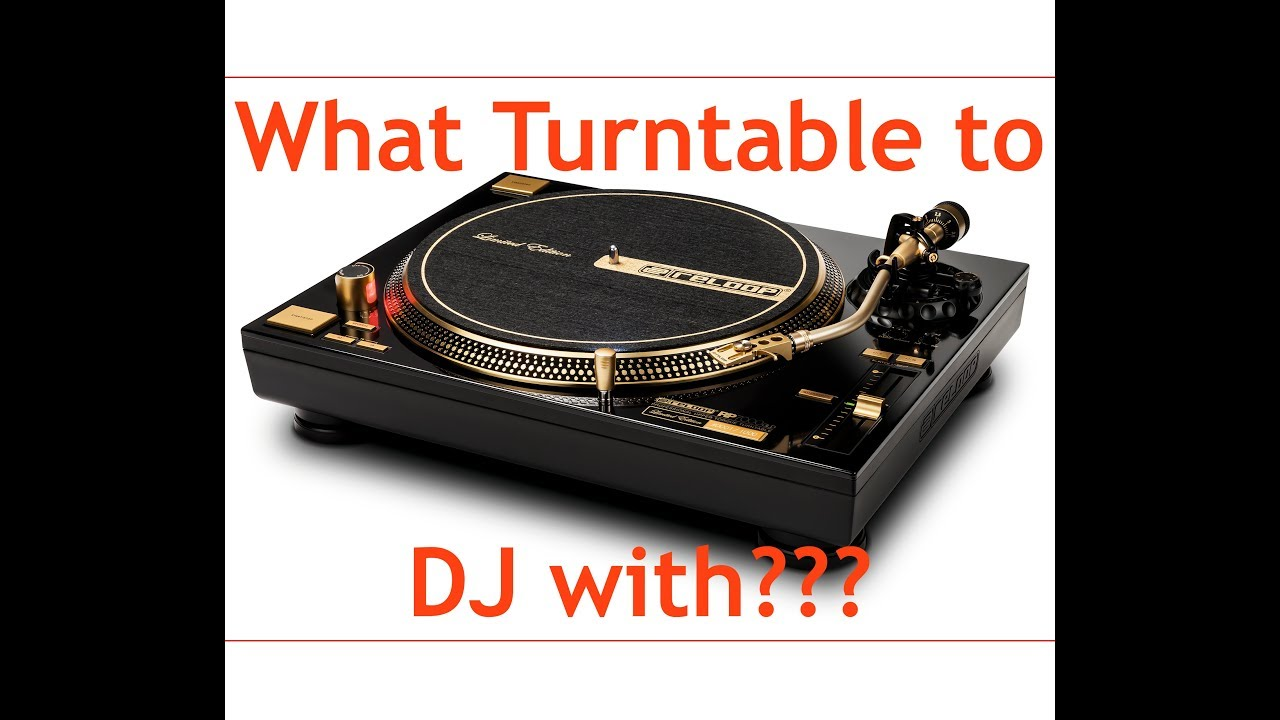 what beginner ish dj turntable to get 2017 youtube. Black Bedroom Furniture Sets. Home Design Ideas