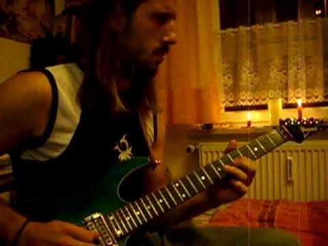 Joe Satriani - Top Gun Theme (Cover improvisation by Crashfleo)