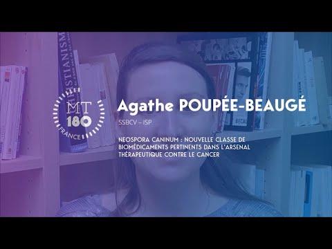 Agathe POUPEE BEAUGE - Ma Thèse en 180 secondes 2020