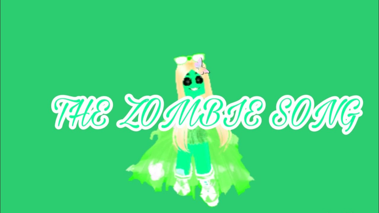 Dance Zombie Roblox The Zombie Song Roblox Music Video Tysm For 50 Subs D Youtube