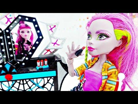 #ОДЕВАЛКИ С МОНСТР ХАЙ! Игры для девочек Рошель и Гаррет собираются на показ мод #Куклы