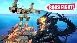 *INSANE* BOSS FIGHT in Fortnite Creative (Codes in Comments) The Warrior Vs. Saturn Block Submission