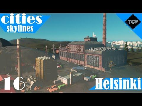 Cities: Skylines | Helsinki - Osa 16 | Hylätty Tehdas!