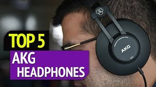 TOP 5: Best AKG headphones 2019