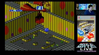 Marble Madness (NES) Mike Matei Live