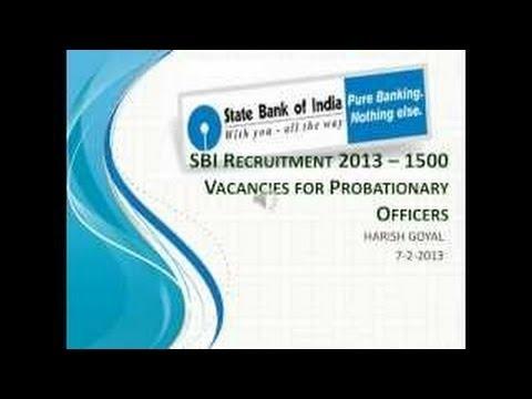 sbi.com recruitment 2014
