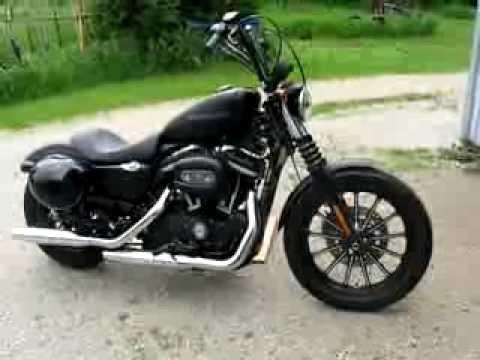 2010 Harley 883 Iron Roland Sands 12 Vintage Apes Youtube