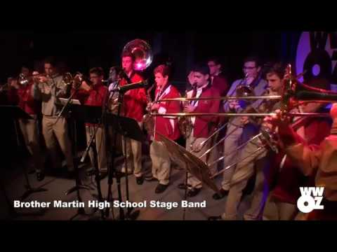 Brother Martin High School Jazz Band on WWOZs School Groove