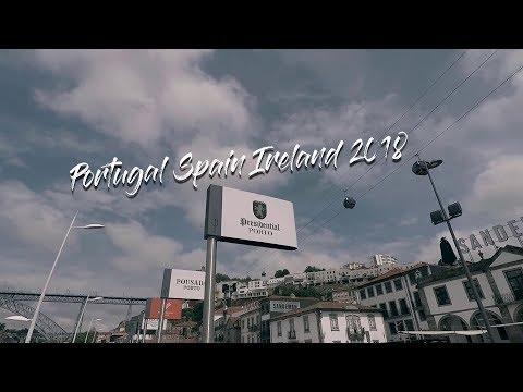 Portugal Spain Ireland Travel Video