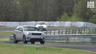 SPYVIDEO | 2019 Range Rover Velar SVR spied Testing at the Nurburgring
