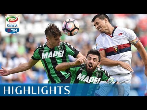 Sassuolo - Genoa - 2-0 - Highlights - Giornata 4 - Serie A TIM 2016/17