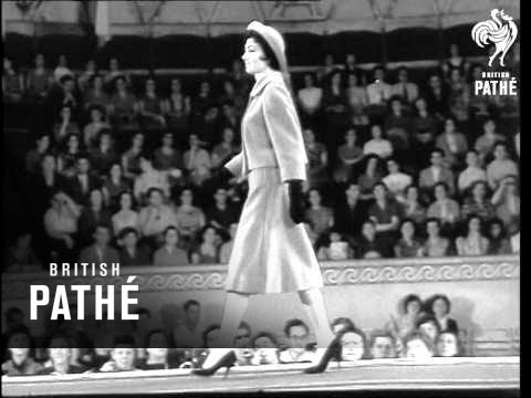 Polish Fashion Show Held In Moscow (1958)