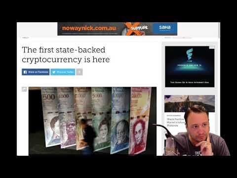 Crypto News- Josh looks at Venezuela's crypto, the Petro. Paypal execs believe in Crypto and more!