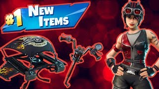 NEW Biker Skins & Pickaxe! Fortnite Live Stream!