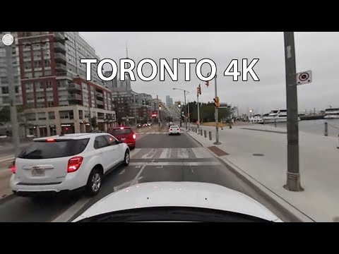 Driving Downtown 360 - Toronto