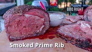 Hickory Smoked Prime Rib