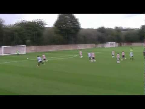 Bradley Tomlinson SHEFFIELD WEDNESDAY F.C v Sheffield United F.C u18