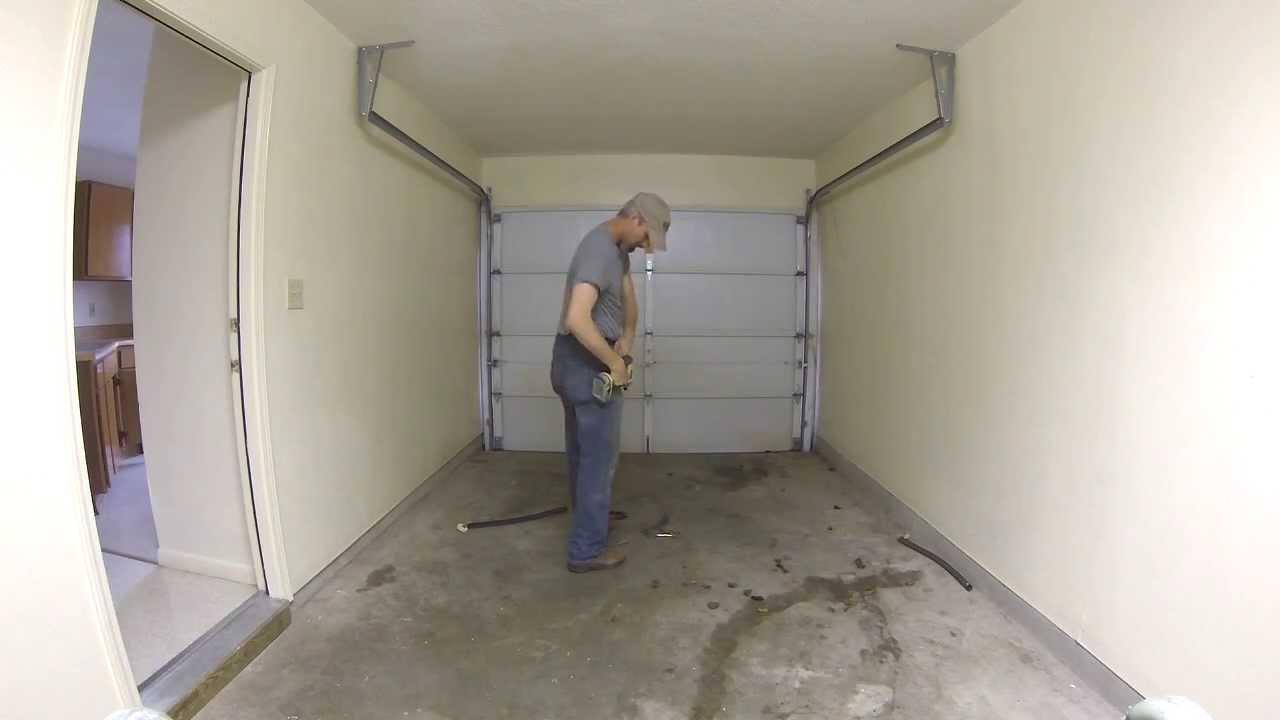 How To Remove Your Garage Door In Under Two Minutes