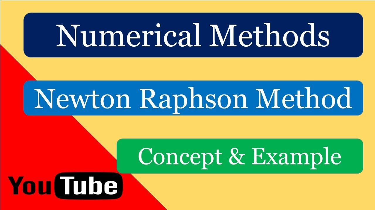 Newton Raphson Method with Solved Example ll Find the Roots of the  Equations ll GATE 2019