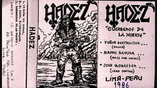 """Hadez """"Angel Exterminador"""" from demo Guerreros de la Muerte 1986"""