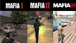 Mafia 1 vs Mafia 2 vs Mafia 3  Gameplay Graphics Comparison PS4 & PC